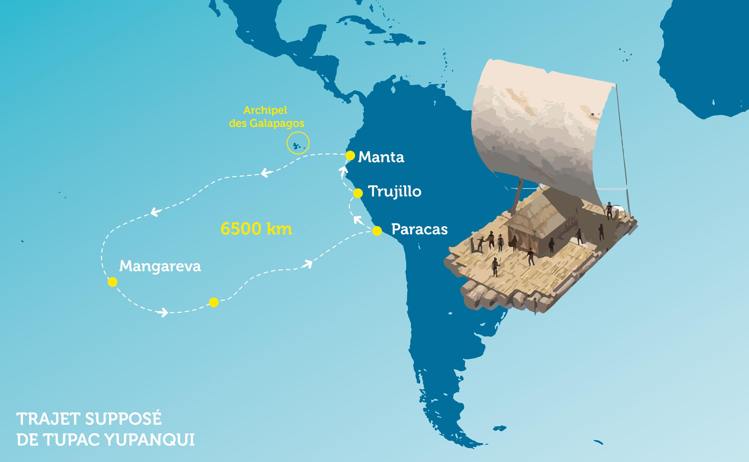 1450 : Un Inca à Mangareva, le très improbable voyage