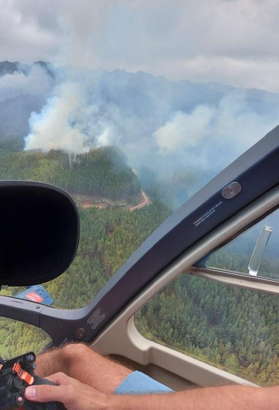Nuku Hiva : l'incendie est maîtrisé