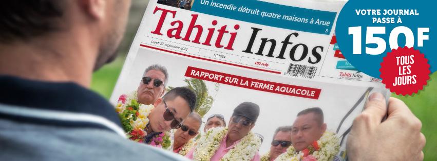 Tahiti Infos doit augmenter
