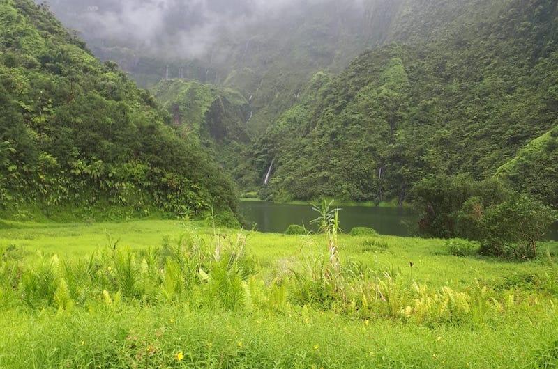 La piste du lac Vaihiria au tunnel reliant la Papenoo fermée pour travaux