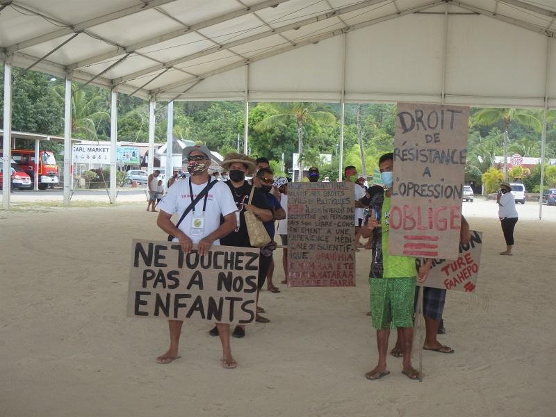 Un nouveau collectif à Bora Bora conteste la loi sur l'obligation vaccinale