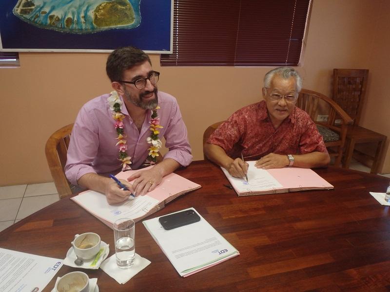 Bora Bora prête pour la péréquation électrique