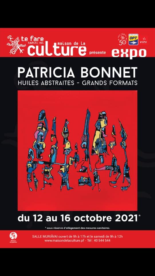 Patricia Bonnet expose ses grands formats