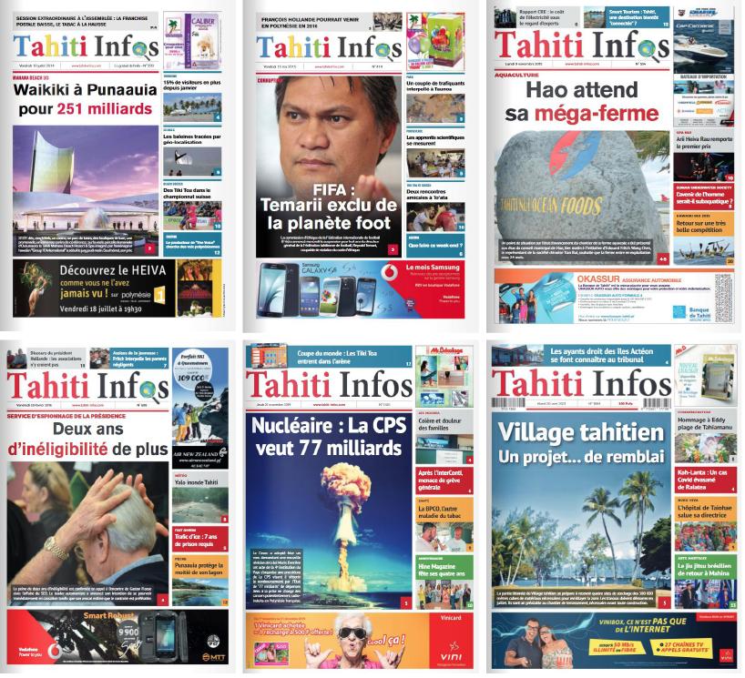 Tahiti Infos publie son numéro 2000