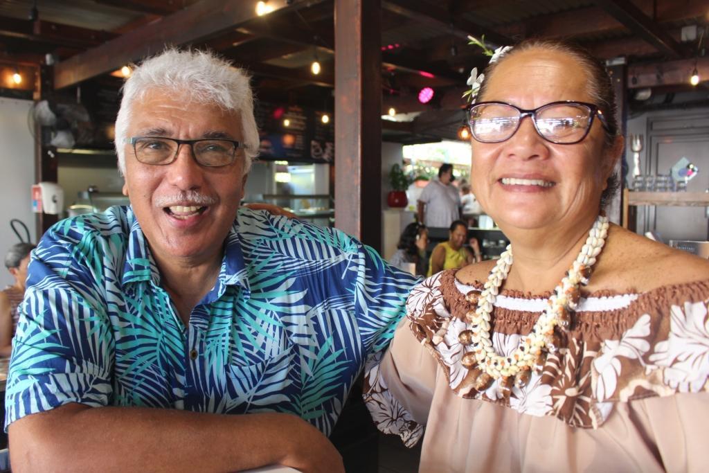 Félix Vilchez et Marguerite Lai.