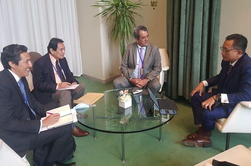 Edouard Fritch en diplomate pro-autonomie à l'ONU