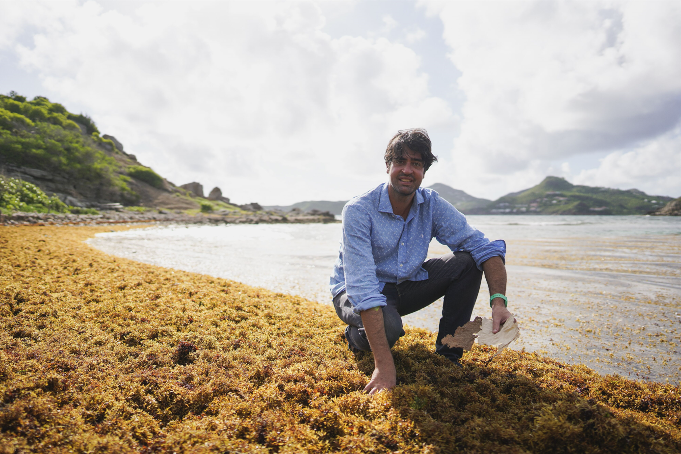 Juriste de formation, Pierre-Antoine Guibout s'est lancé dans l'aventure Sargasse Project sans aucun bagage scientifique. © Frederic Tetard