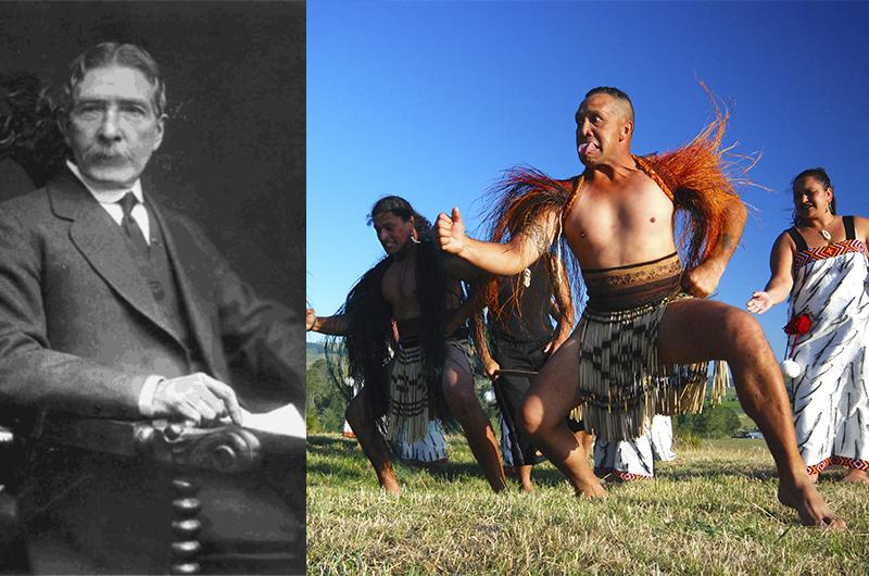 """Edward Robert Tregear a connu une formidable ascension sociale en Nouvelle-Zélande, même si sa théorie des """"Maoris Aryens"""" ne tenait pas vraiment debout. N'empêche qu'en Europe, il connut le succès."""