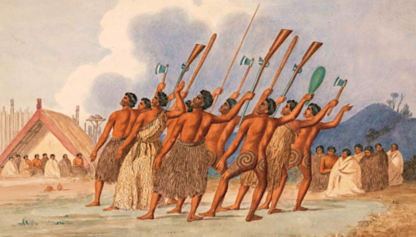 C'est en combattant les Maoris, alors qu'il s'était engagé dans l'armée, que Tregear fit leur connaissance.