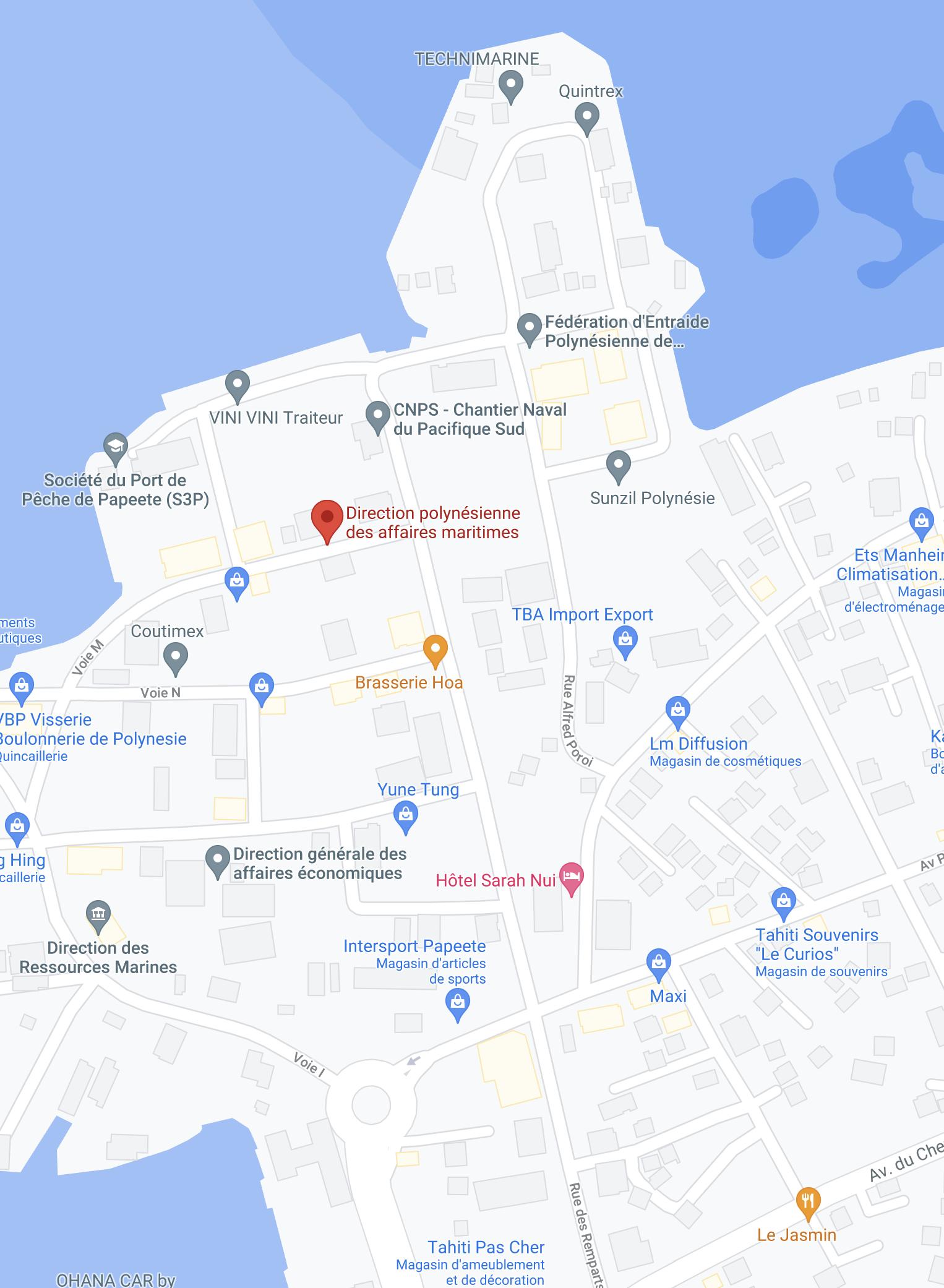 Un centre provisoire de vaccination aux Affaires maritimes