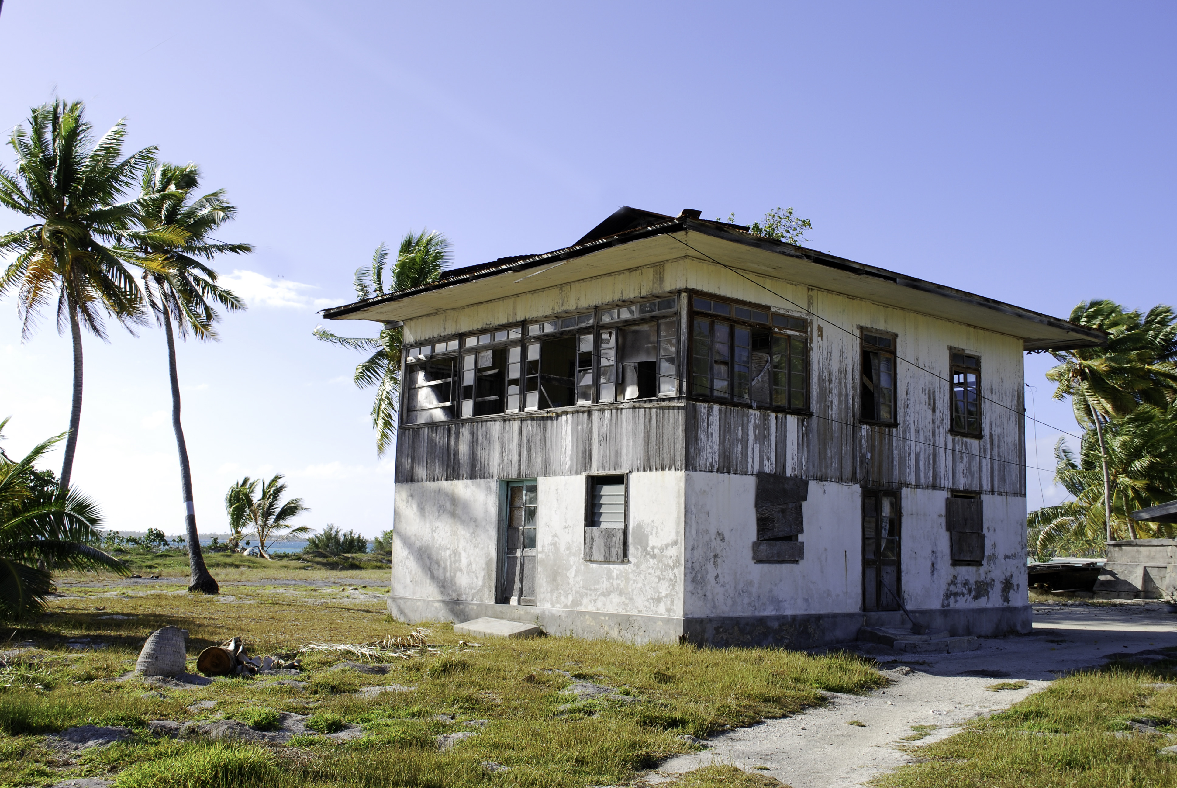 Maison à  Fakahina . Photo d'illustration.
