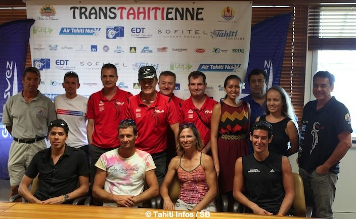 Aujourd''hui dans le coeur de l'île de Tahiti :  La Trans-tahitienne devient le Triathlon Nature