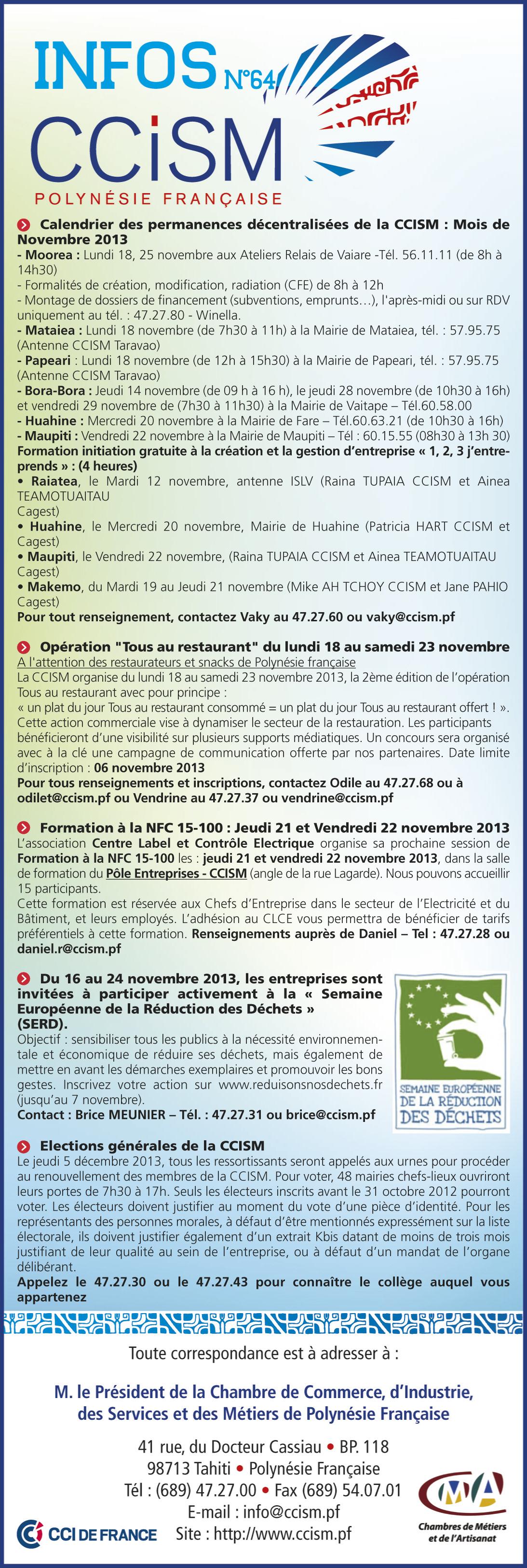 Infos CCISM N°64