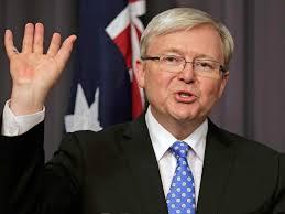 Kevin Rudd fait ses adieux à la politique