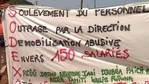 Nouvelle--Calédonie: 300 personnes manifestent contre l'usine de Vale