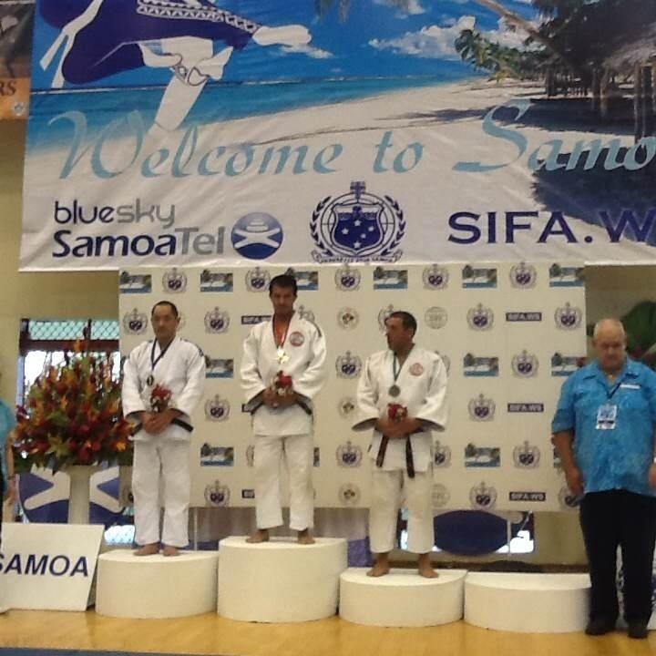 Médailles pour les judokas aux îles Samoa