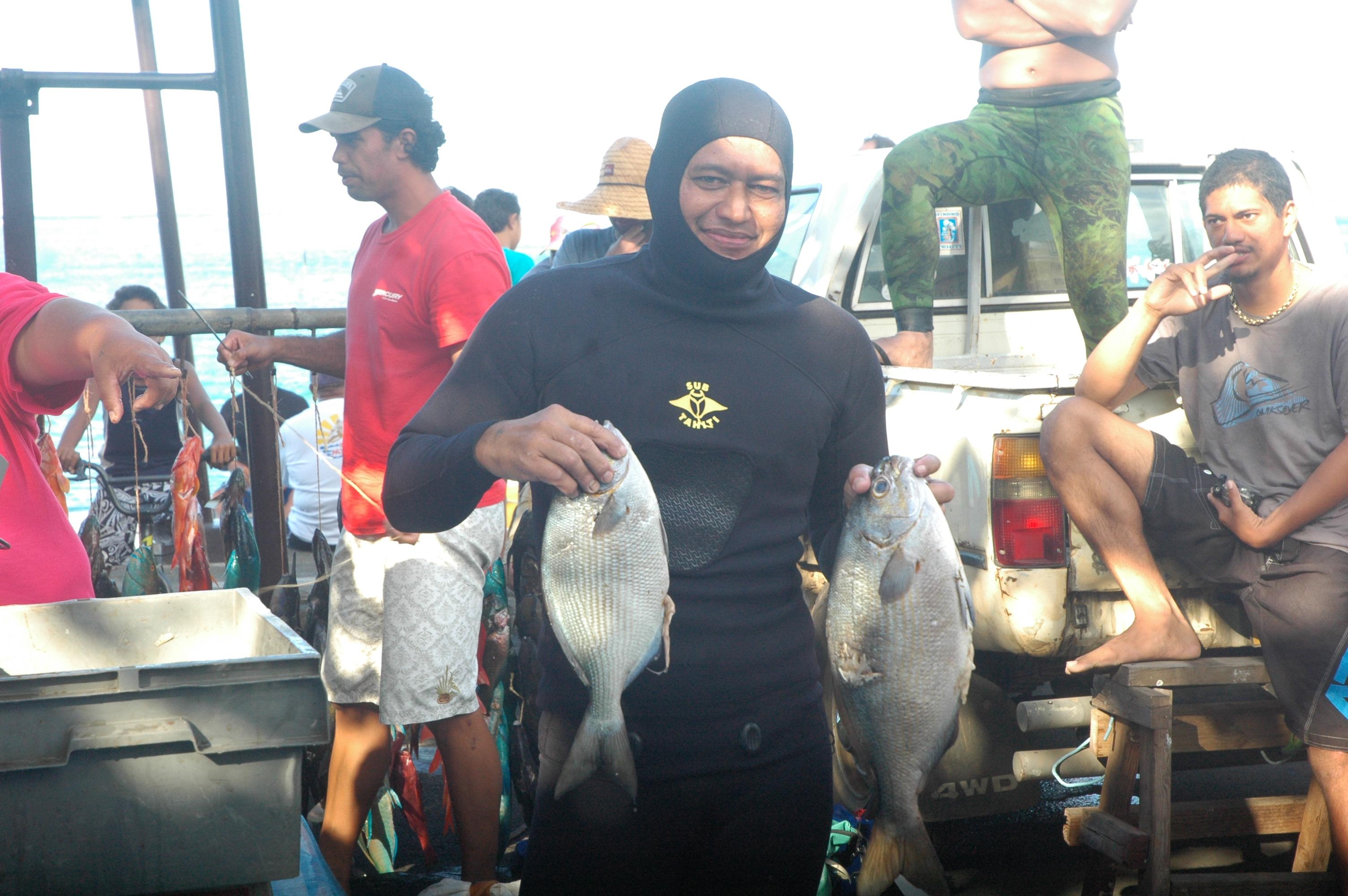 Championnat de Polynésie française de pêche sous marine en individuel 2013 et sélectives pour le mondial 2014