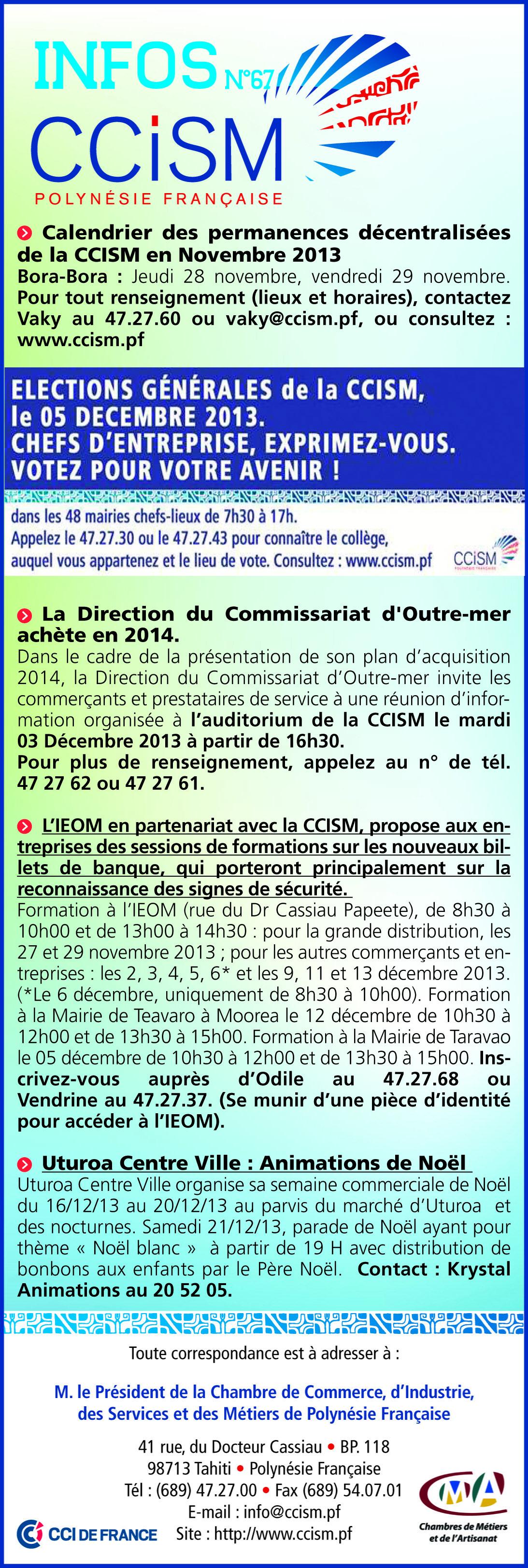 Infos CCISM N°67