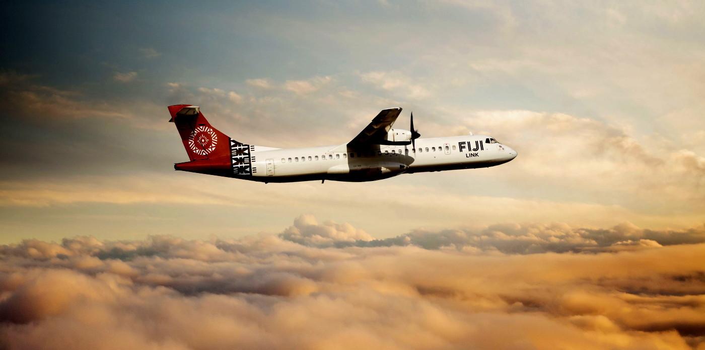 a prochaine livrée « tapa » du premier ATR72 de « Fiji Link » (Source photo : Fiji Airways)