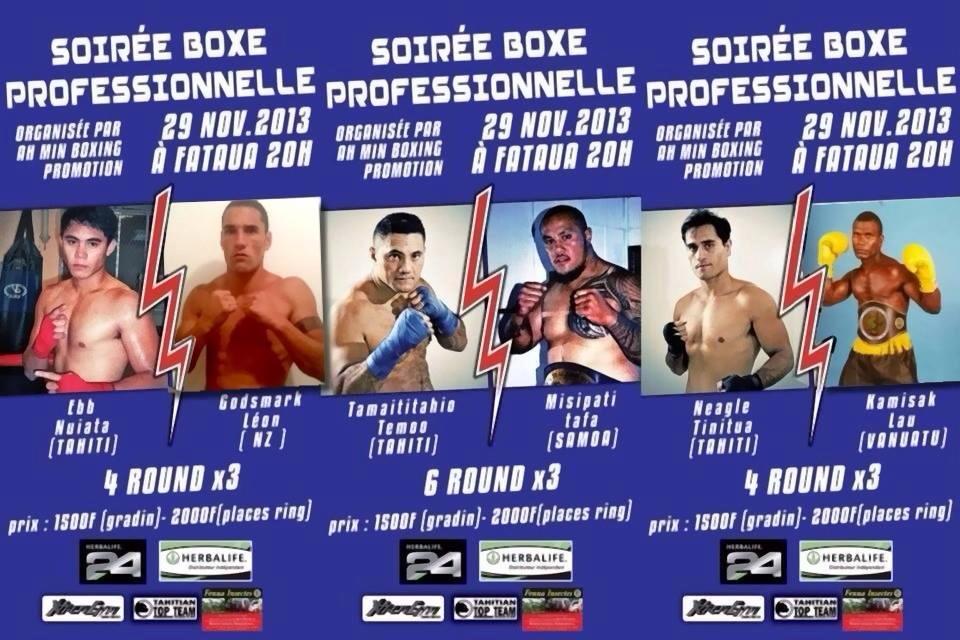 Boxe – Une soirée boxe professionnelle à ne pas manquer !