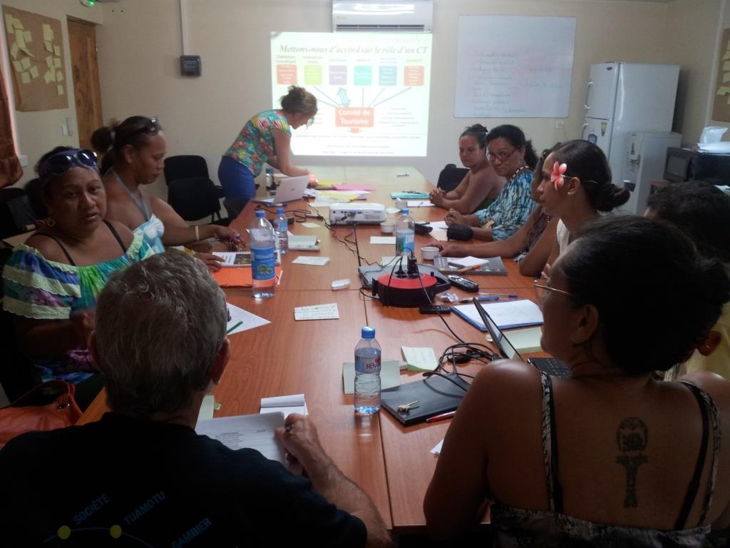 Les Comités de Tourisme des Marquises en séminaire de formation
