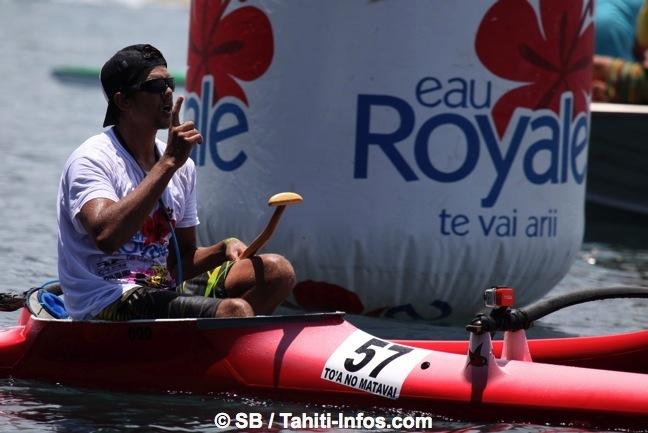 Va'a V1 – Après avoir remporté la course du mémorial Serge Hoatua, Manutea Owen s'offre celle de la To'a no Matavai