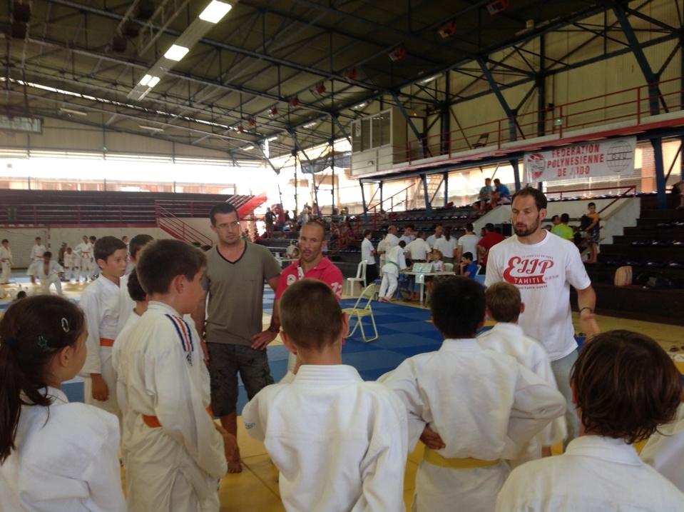 Coupe de Tahiti Nui de judo 2013