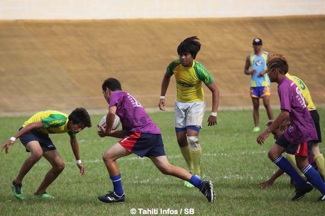 Rugby à 7 – Faa'a gagne le tournoi inter-îles chez les – de 15 ans
