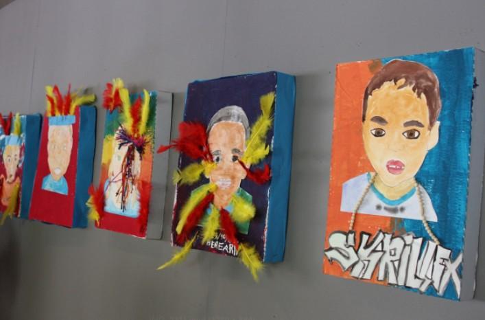 Exposition des travaux de l'atelier créatif des P'tits amis du Musée