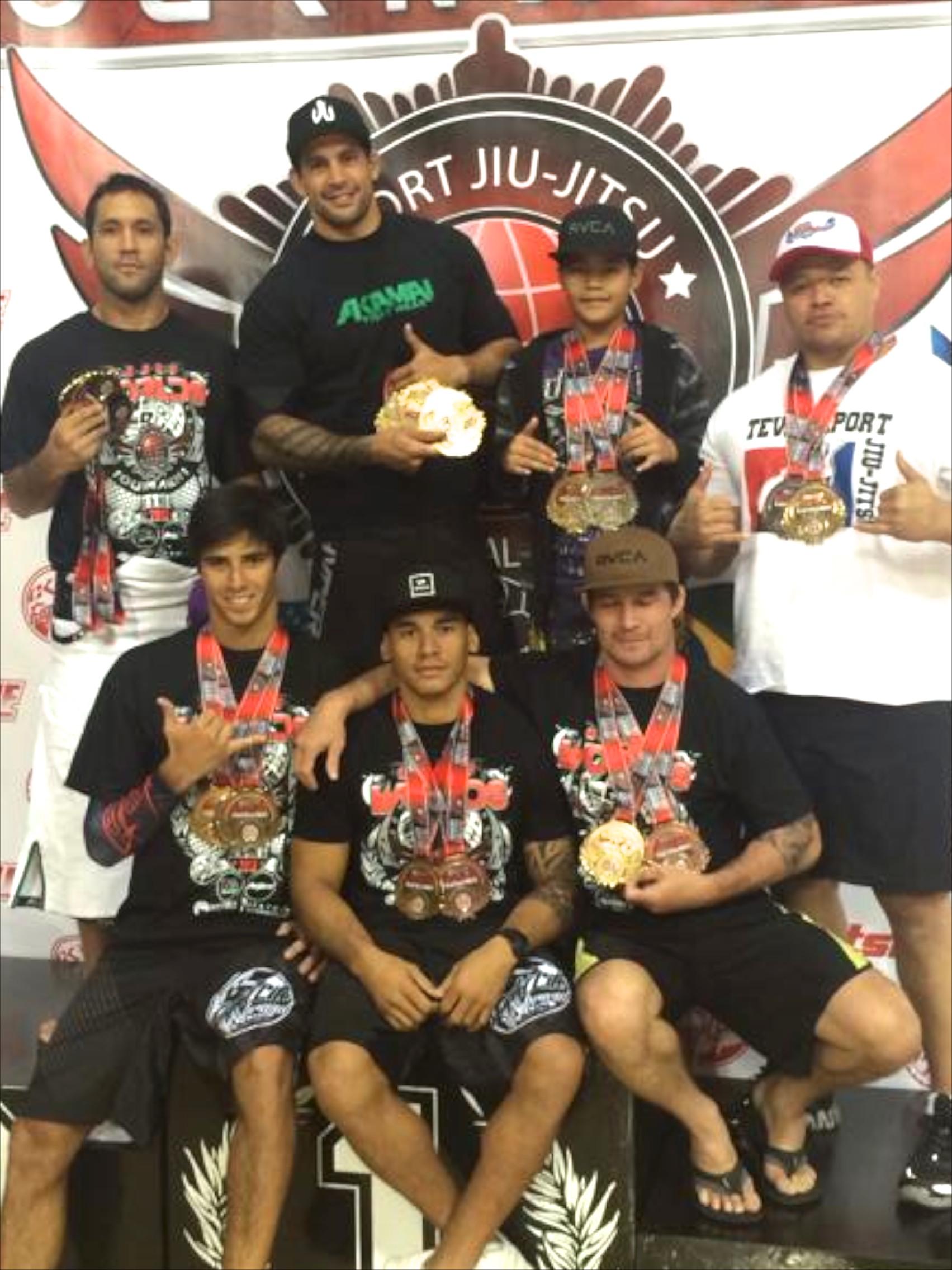 Jiu Jitsu – Carton plein pour les Tahitiens aux 'Worlds BJJ Tournament' en Californie