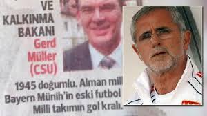 Un quotidien turc confond Gerd Müller le ministre et Gerd Müller l'ancien footballeur