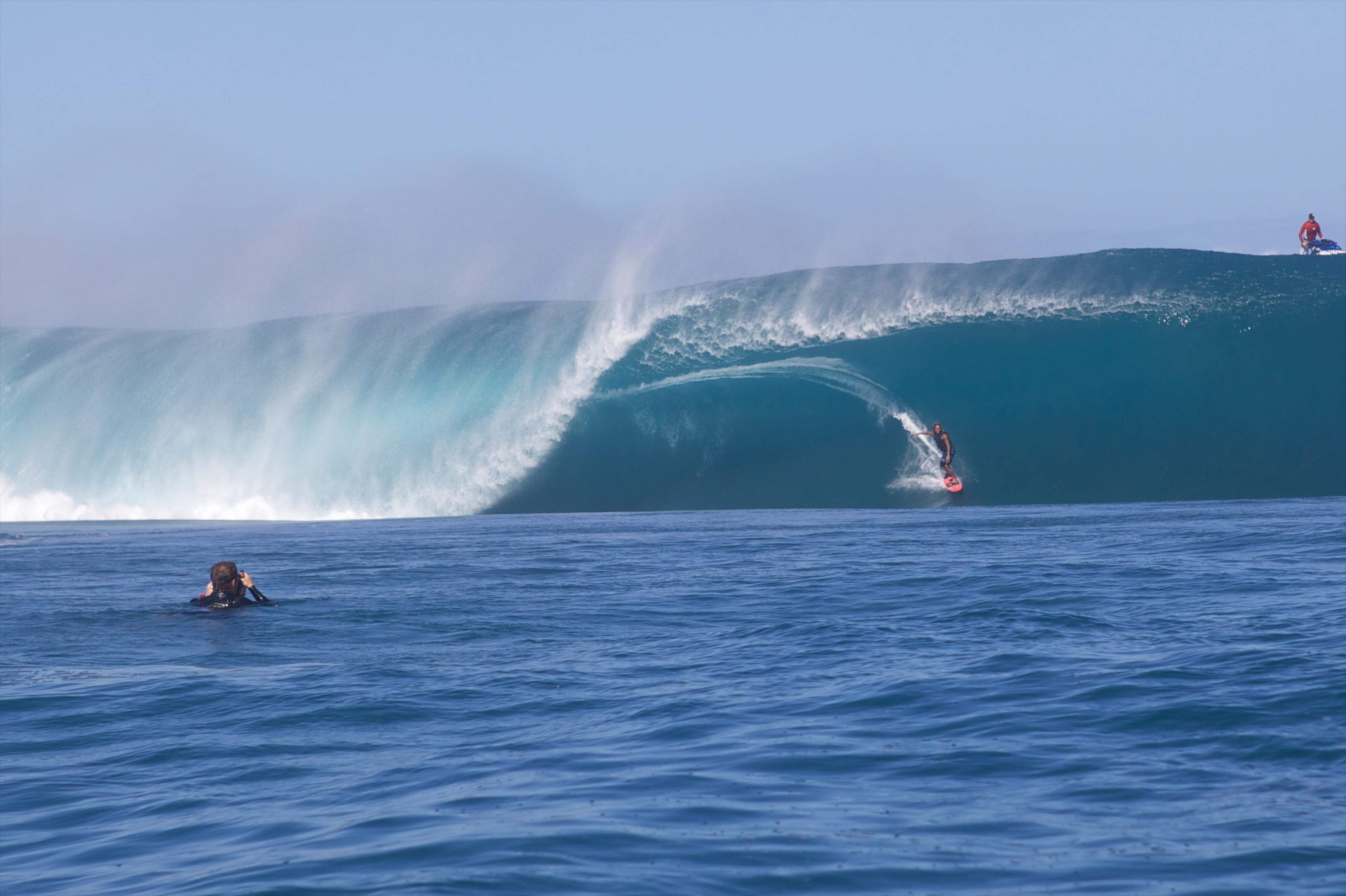 Surf - Domenic Mosqueira, photographe de l'extrême