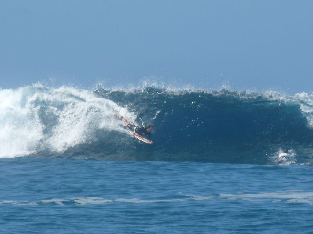 Bonne fin d'année pour le TAMA HE'E Surf Club à Teahupoo pour les jeunes