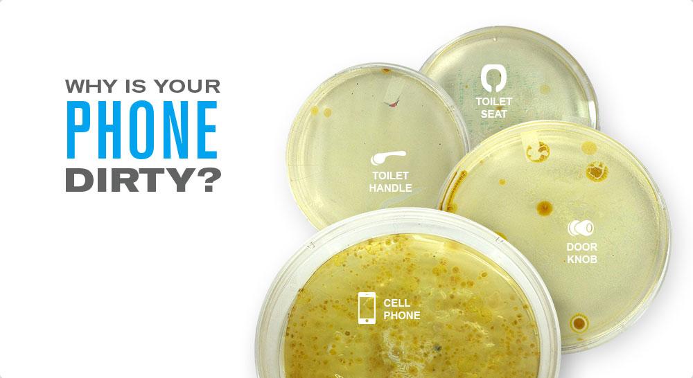 Les smartphones fourmillent d'applications santé, mais aussi de bactéries