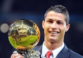 Ballon d'Or - Cristiano Ronaldo met Ribéry hors-jeu