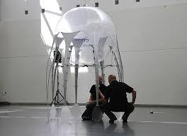 """Aéronautique: des chercheurs créent une """"méduse volante"""""""