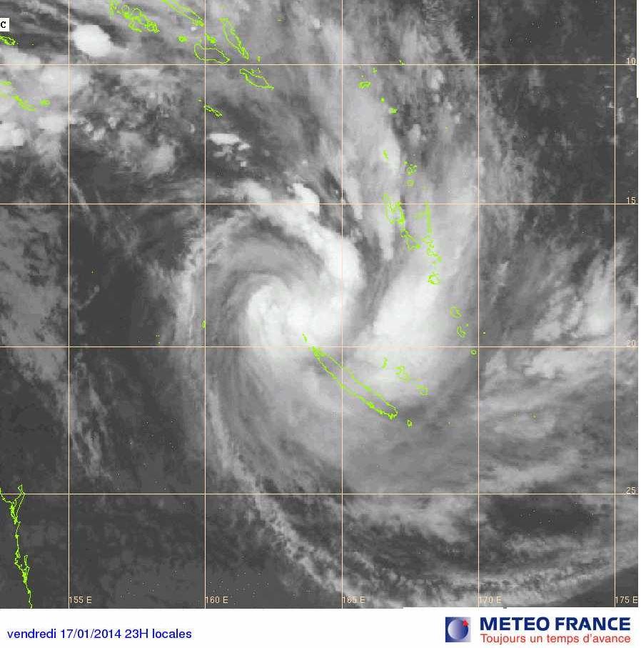 La Nouvelle-Calédonie en préalerte à l'approche du cyclone June, selon les autorités locales