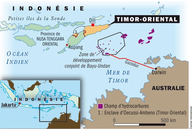 """Pétrole: le Timor """"offensé"""" et """"choqué"""" par l'Australie"""