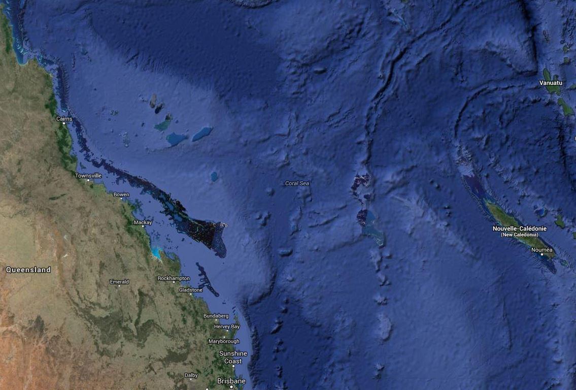 Formation probable d'un nouveau cyclone en Mer de Corail