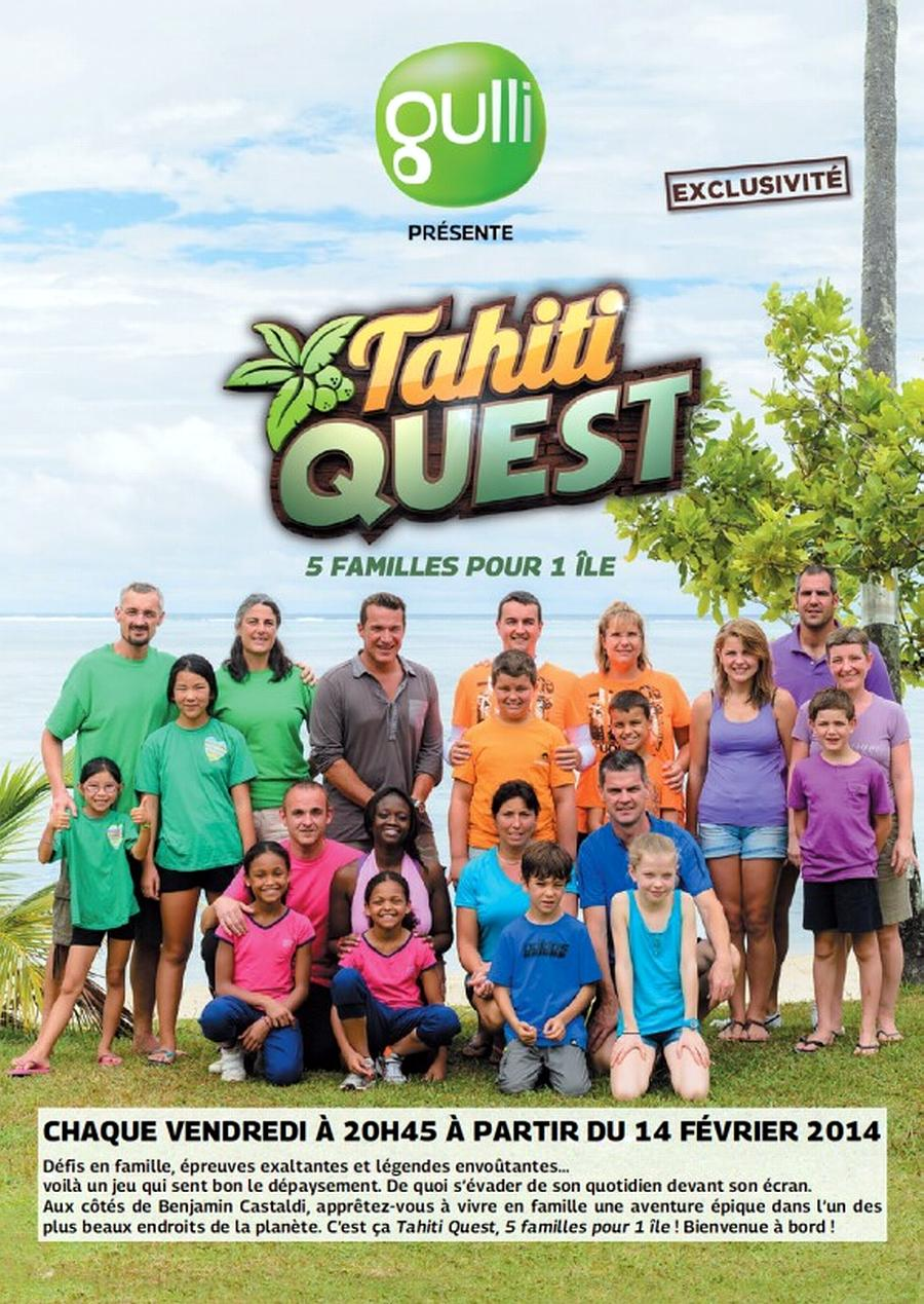Le jeu «Tahiti Quest» en prime-time sur Gulli à partir du 14 février