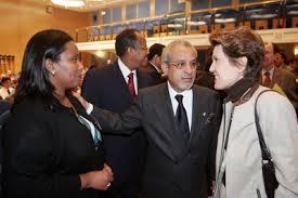 La Polynésie française, pour sa part, était représentée par Brigitte Girardin, ancienne ministre française de l'Outre-mer et désormais Conseillère du Président de la Polynésie française.