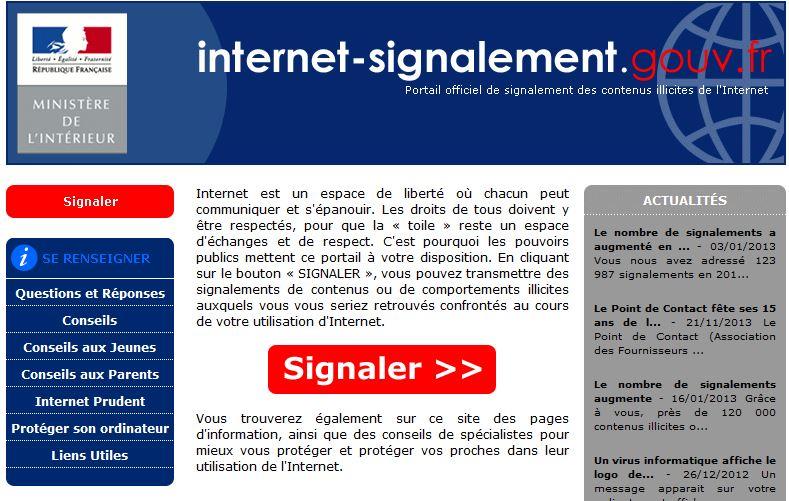 29.000 signalements sur la plateforme internet de la PJ en 2013