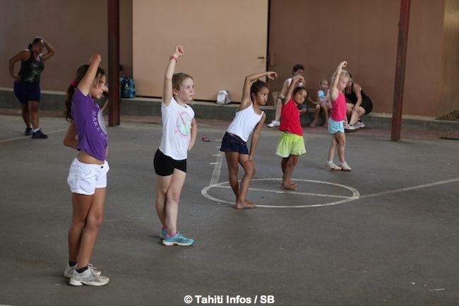 Fitness à la Mission – 'Des enfants en surpoids dès la maternelle'
