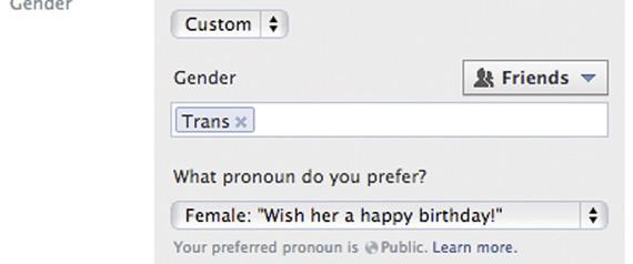 Transsexuel, intersexuel, bi: Facebook vous donne le choix