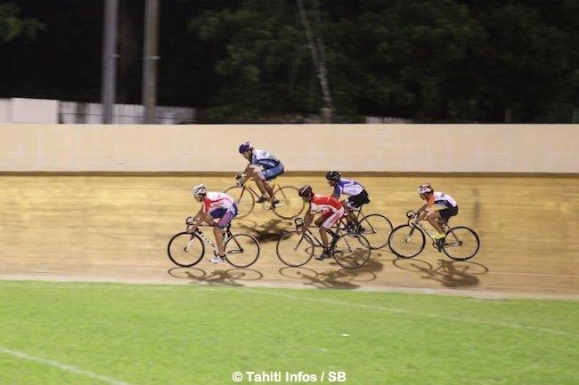 Vélo sur piste : Terii Teihotaata de l'AS Vénus est le plus rapide sur le 200 m lancé