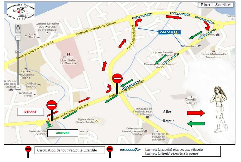 La Tahitienne 2014 le samedi 8 mars à la mairie de Pirae : Une course de femmes pour la femme !