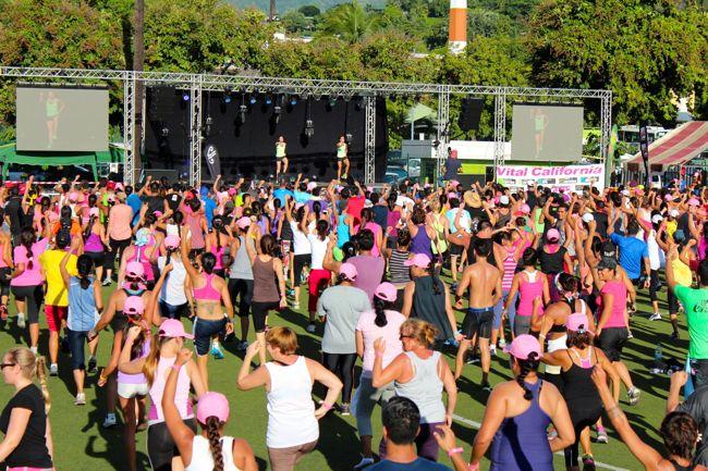 Tahiti Fitness Challenge : plus de 1000 participants pour l'événement fitness de l'année