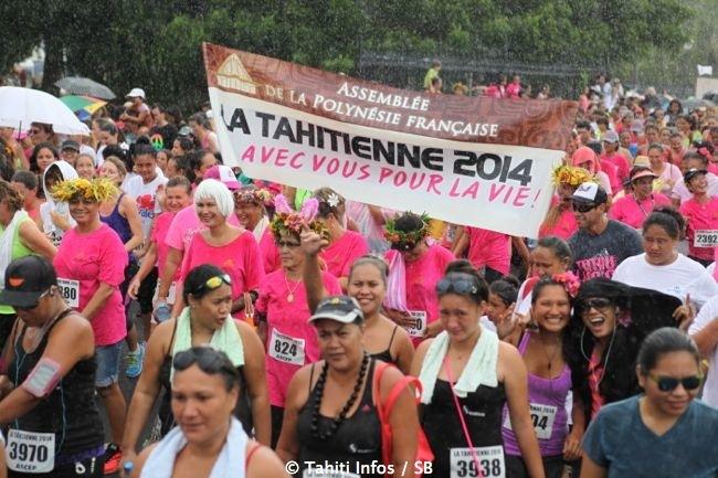 Athlétisme : La Tahitienne a rassemblé 4 608 femmes contre le cancer