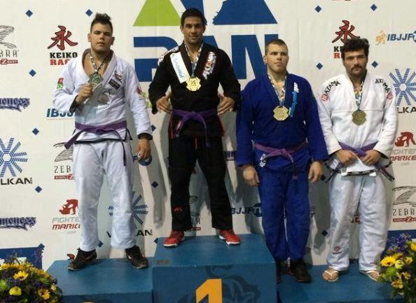 Jiu Jitsu Brésilien : Dany Gérard médaille d'or aux 'Pan American championships 2014'