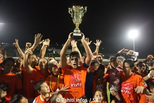 Football – Pirae est sacré champion 2013-2014